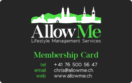Membership - Allowme
