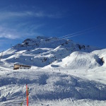 Allow me - Davos in the sun and snow