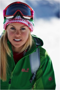 Allow me in Verbier with CHEMMY ALCOTT