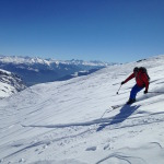 Dan from our members ski trip last winter in Flims.